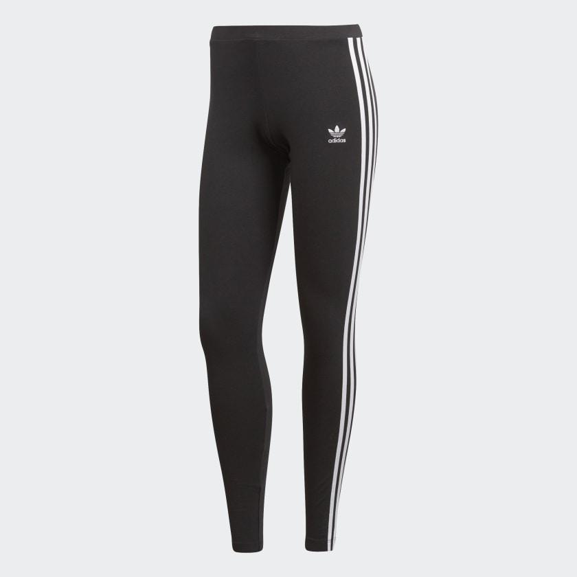 Adidas 3 Stripe Ladies Leggings