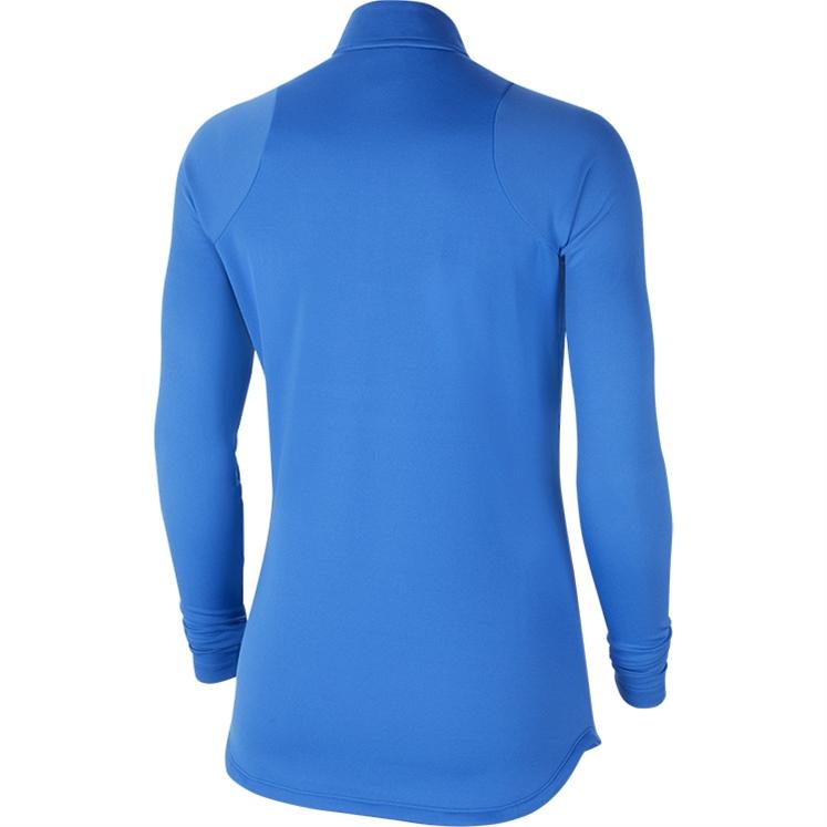 Nike Women's Dri-FIT Academy 21 Drill Top Royal Blue
