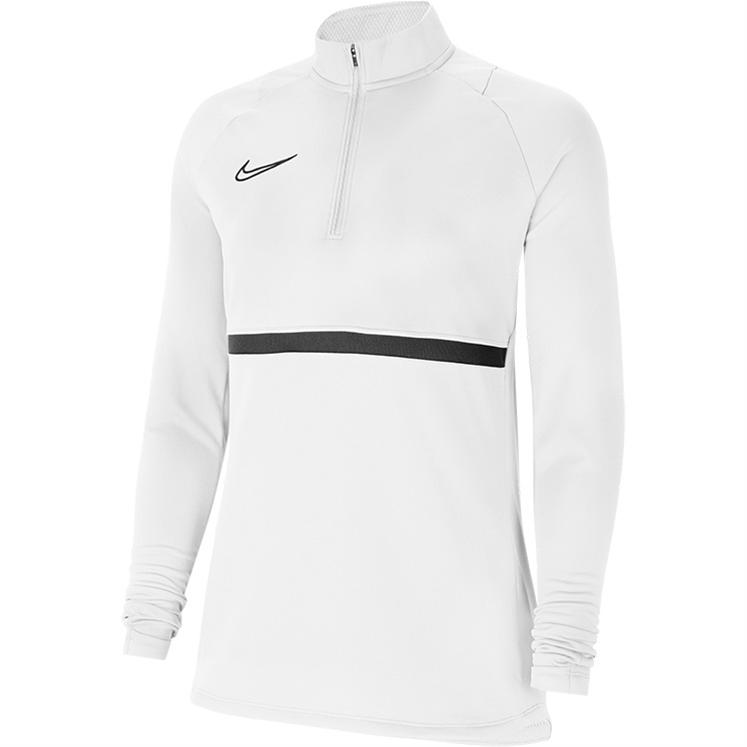 Nike Women's Dri-FIT Academy 21 Drill Top White