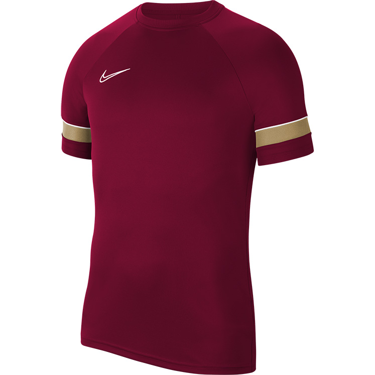 Nike Women's Dri-FIT Academy 21 SS Training Top Team Red