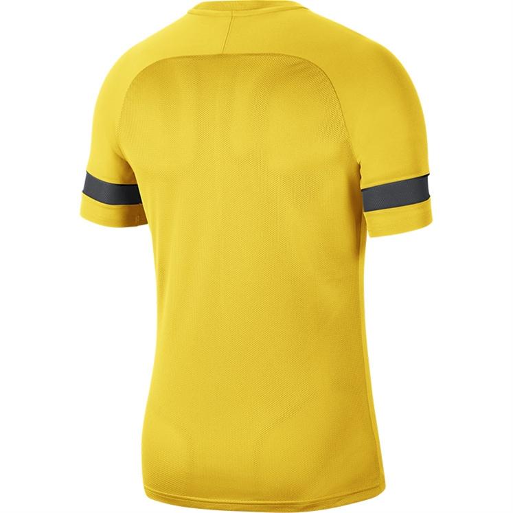 Nike Women's Dri-FIT Academy 21 SS Training Top Tour Yellow