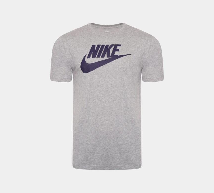 Nike Men's Futura Crew Neck T-Shirt Grey