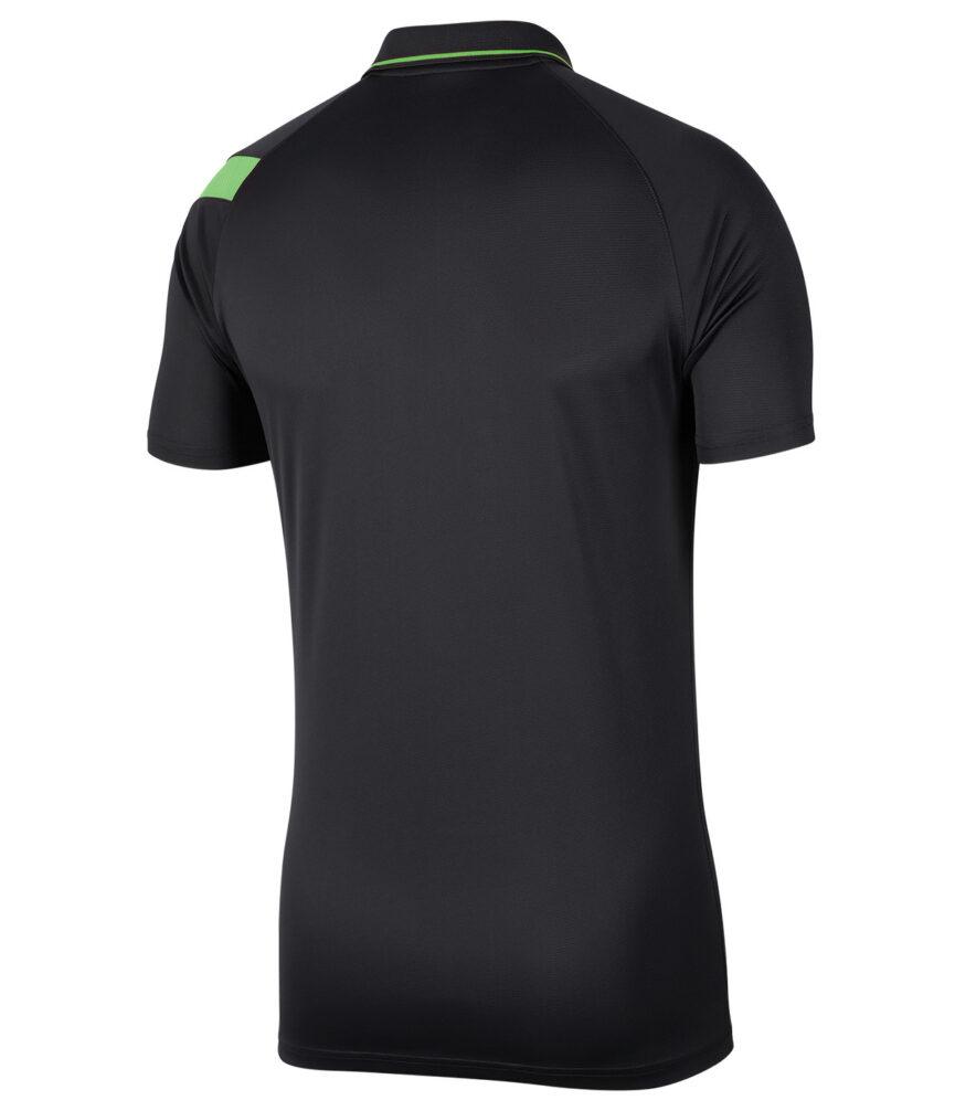 Nike Dri-FIT Academy Pro Polo Anthracite/Green Strike