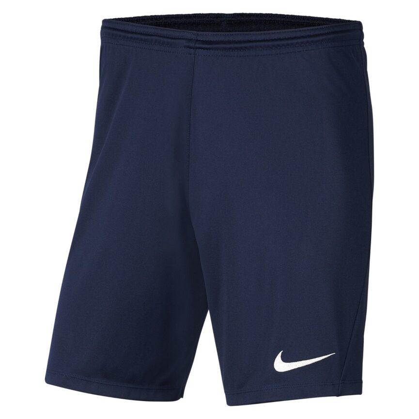 Nike Youth Dri-FIT Park III Shorts Midnight Navy