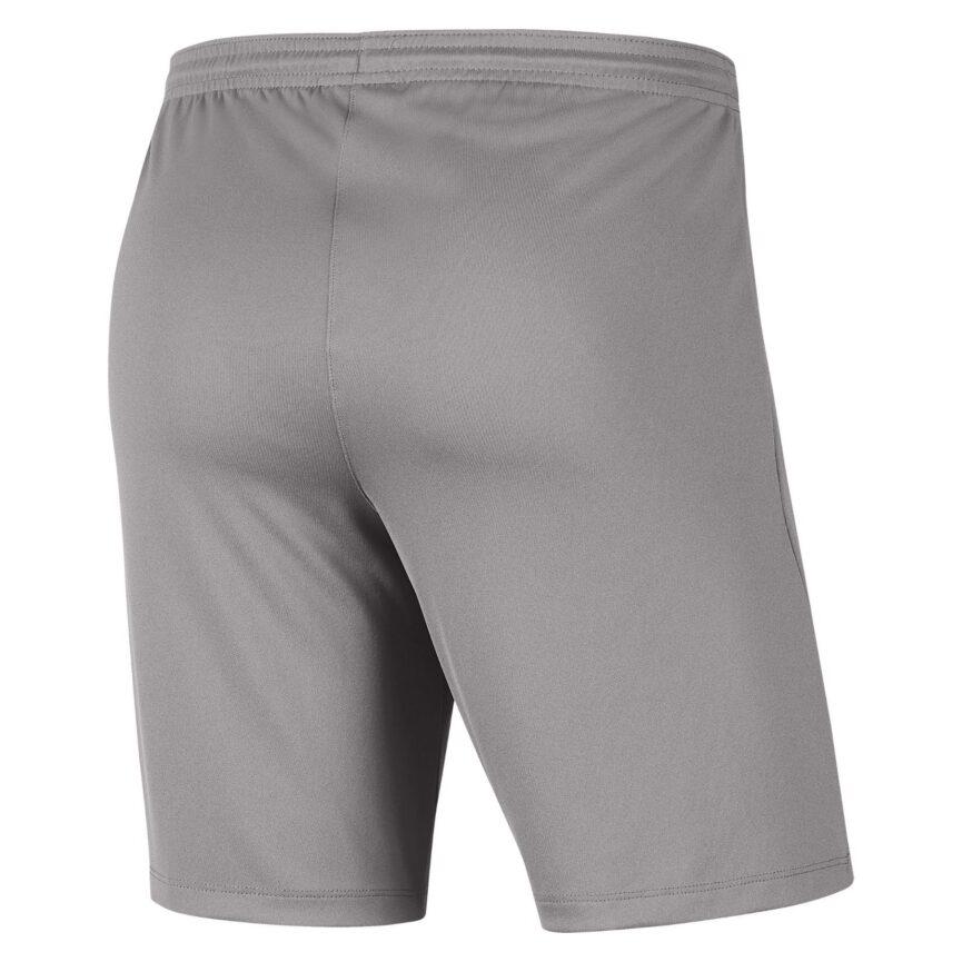 Nike Youth Dri-FIT Park III Shorts Pewter Grey