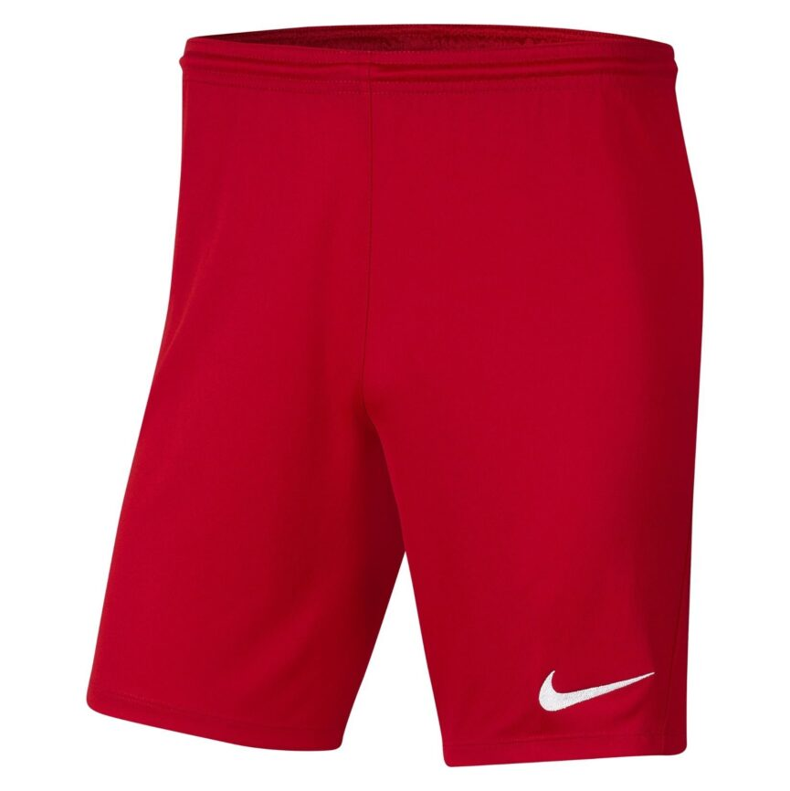 Nike Youth Dri-FIT Park III Shorts University Red