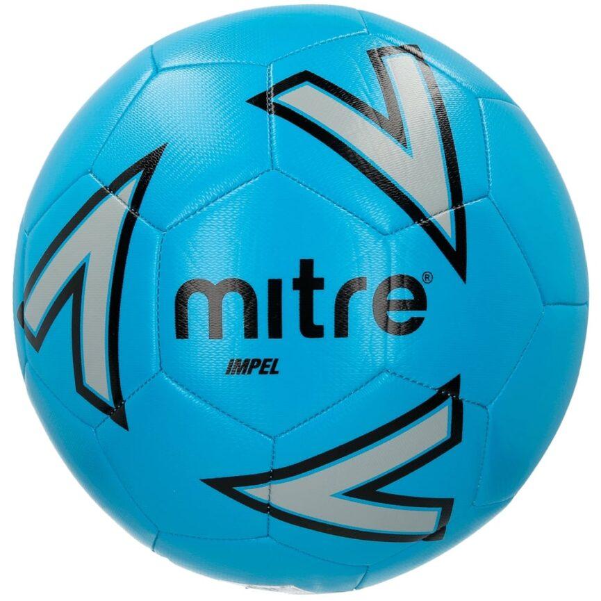 Mitre Impel Training Ball Blue/Silver/Black