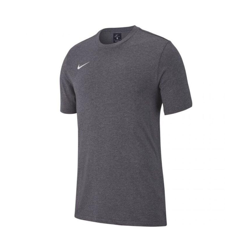 Nike Team Club 19 TEE – Charcoal Heather