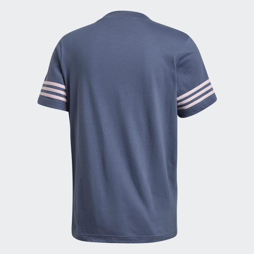 Adidas Mens Originals Outline T-Shirt Blue