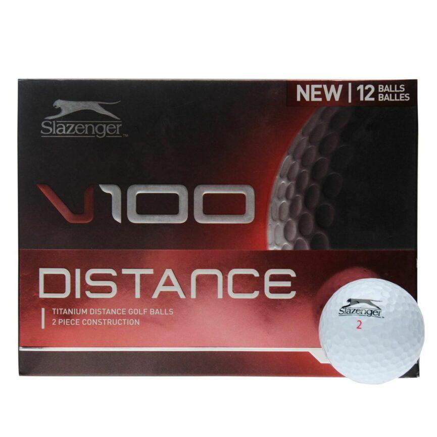 Slazenger V100 Distance Golf Balls 12 Pack